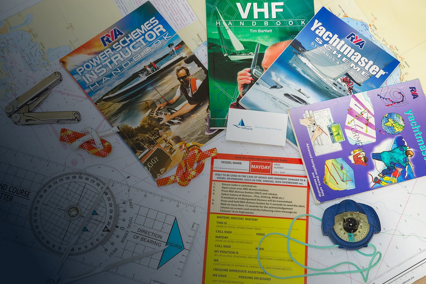 ^RYA online Skipper courses VHF, Essential Navigation Dayskipper,Yachtmaster Learn whenever and wherever you can!
